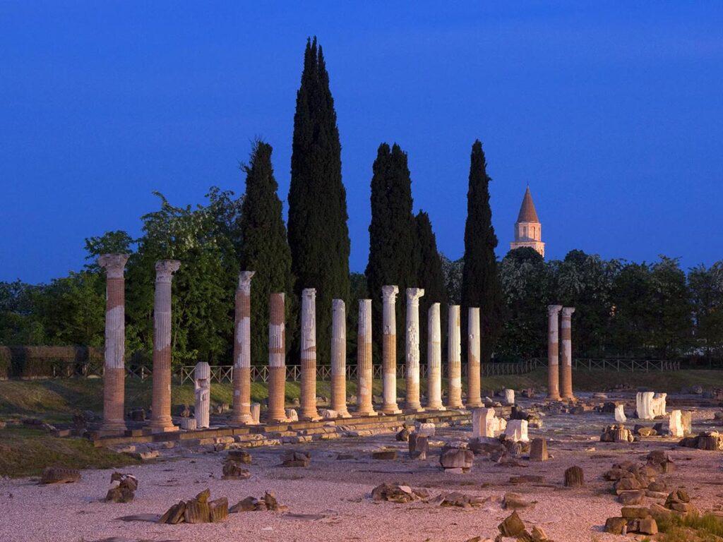 il foro romano ad aquileia
