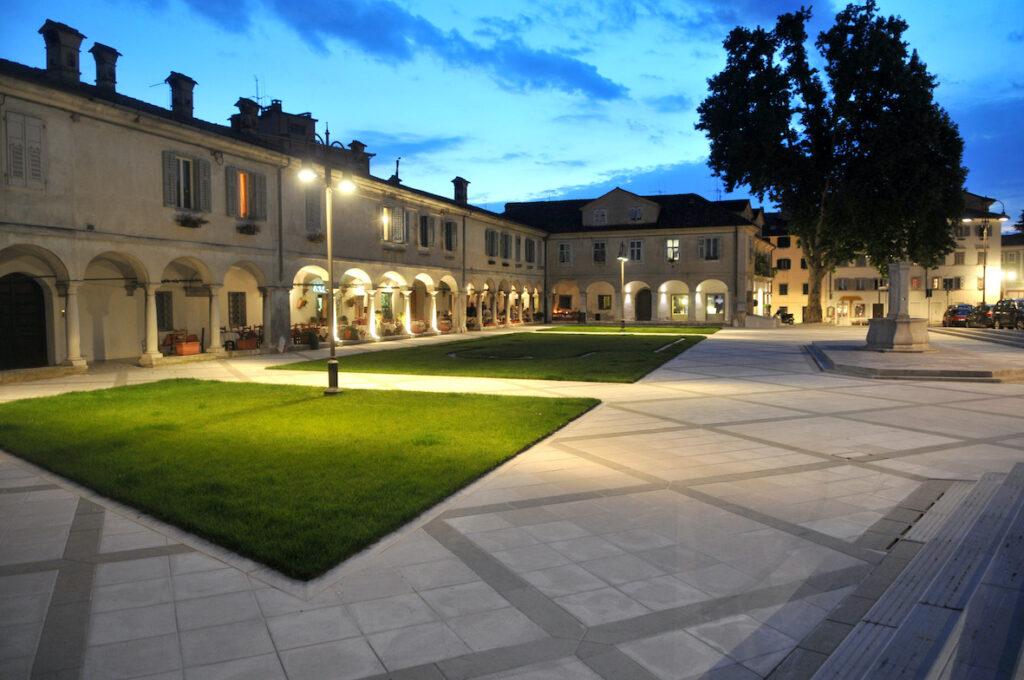 Piazza S. Antonio notturna