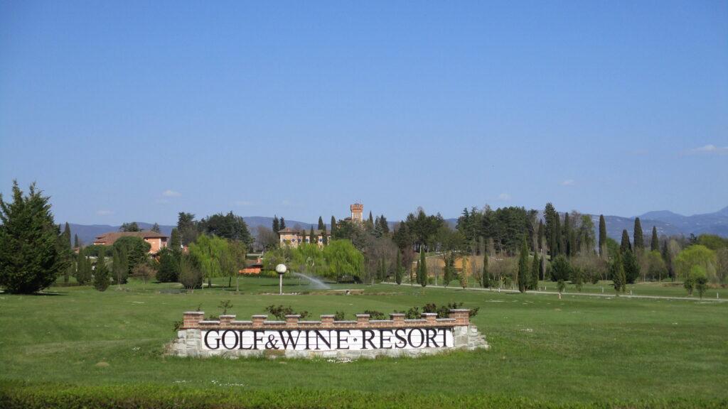 entrata campo da golf